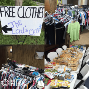 The Lord's Closet - Free Food and Clothing Giveaway